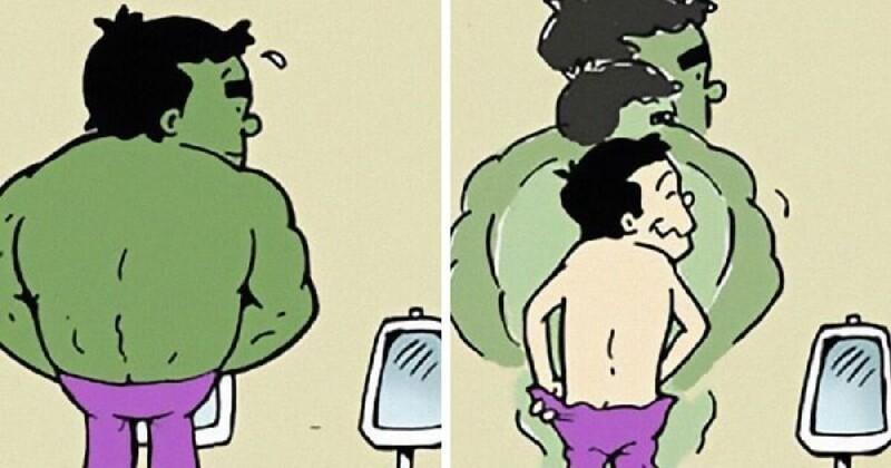 Чем занимаются супергерои в свободное время (33фото)