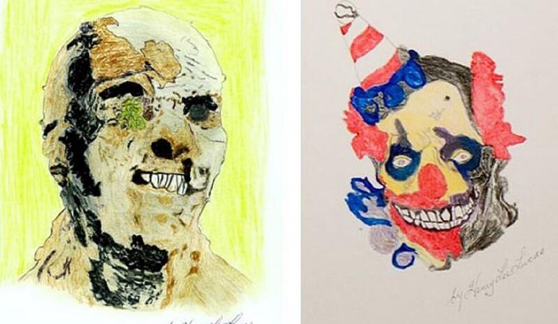 Картины, созданные серийными убийцами (11фото)