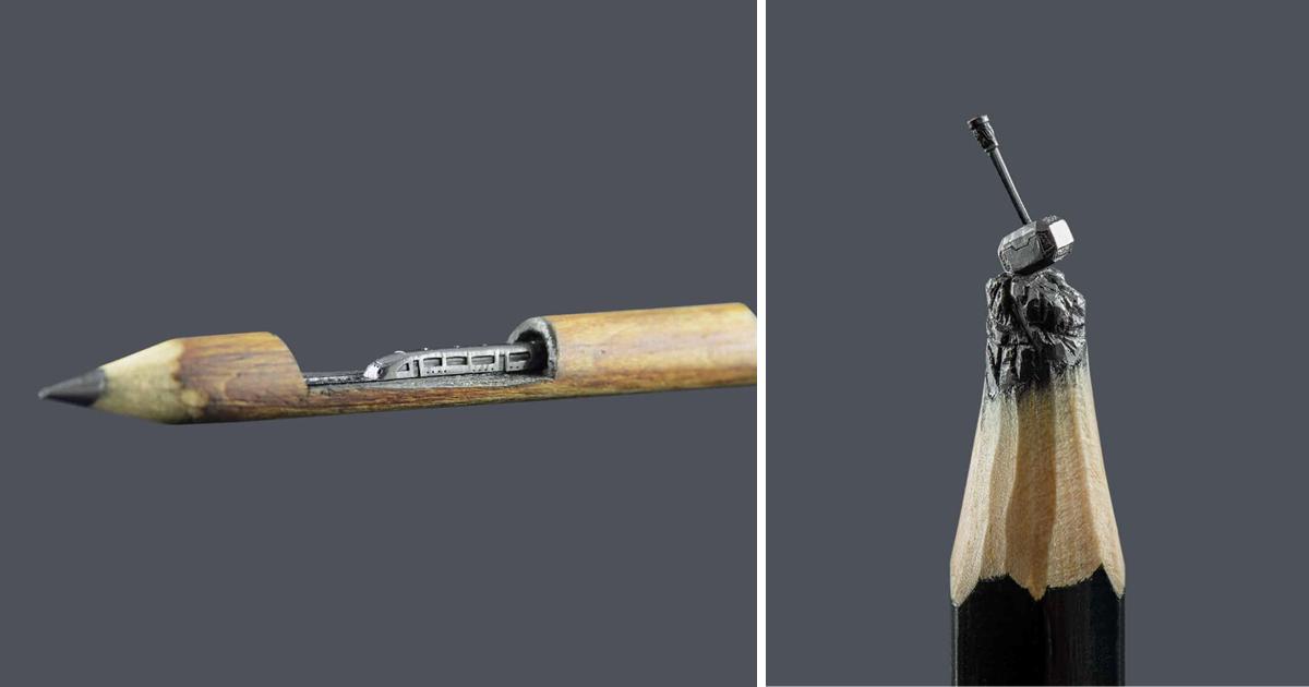 Шедевры на кончике карандаша: боснийский скульптор Ясенко Дордевич (25фото)