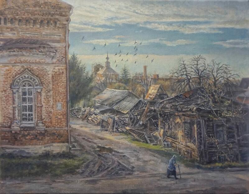 Россия в картинах художников (30фото)