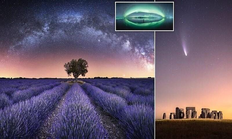Главные претенденты на победу в конкурсе астрономической фотографии 2021 (26фото)