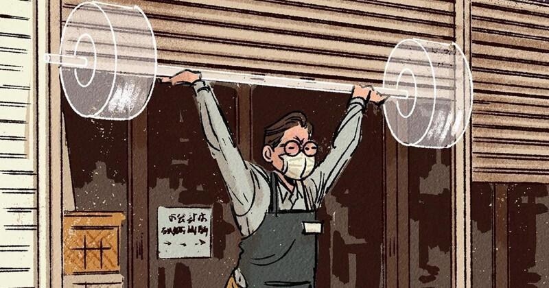 Токийский художник считает, что у каждого - своя Олимпиада (16фото)