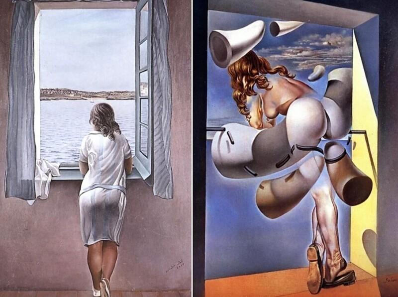 Как художник Сальвадор Дали отомстил своей сестре (1фото)