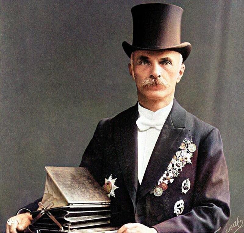 Цветные фотографии Санкт-Петербурга 1900-1915гг. Карл Булла (22фото)