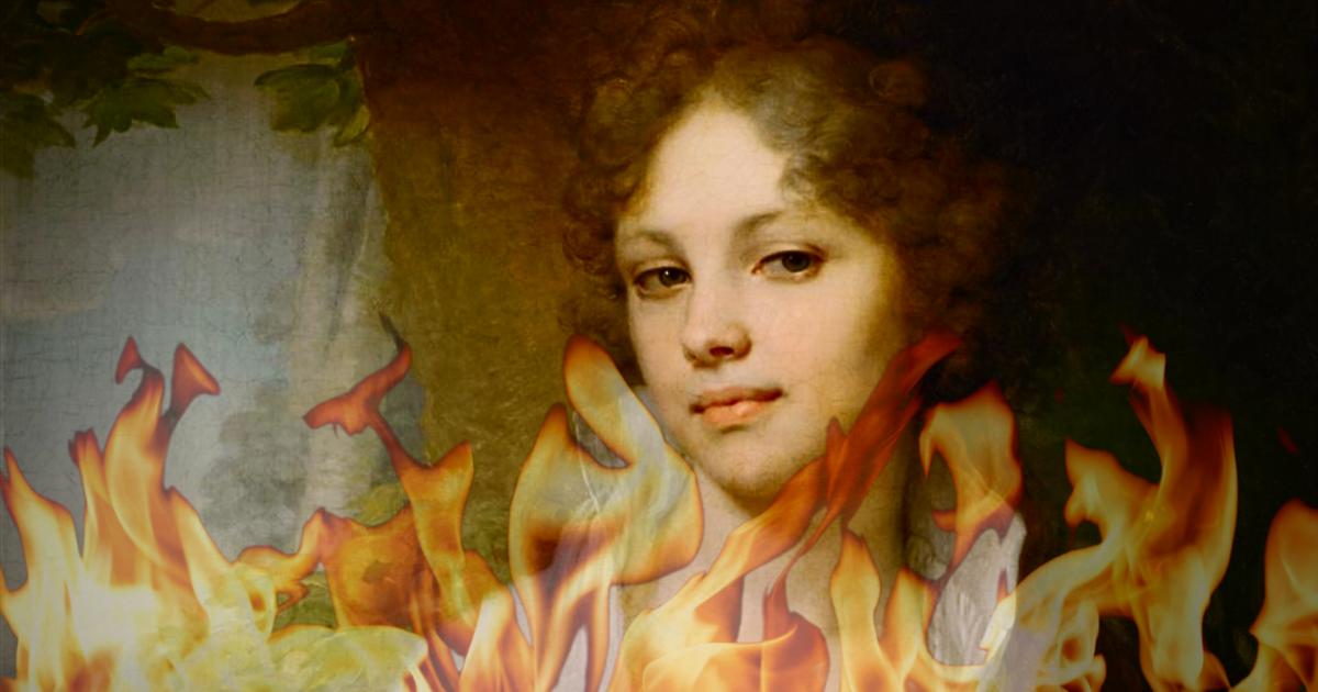 6 известных картин с мистическими историями, которые наводят ужас (7фото)
