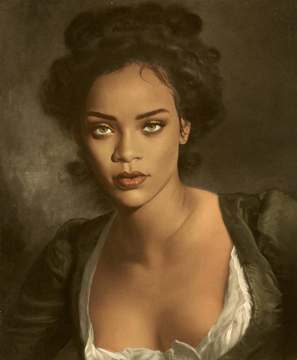 Художник показал как бы выглядели знаменитости, если бы их рисовали живописцы прошлого (18 фото)