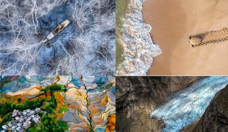 Лучшие фотографии земли с неба (21фото)