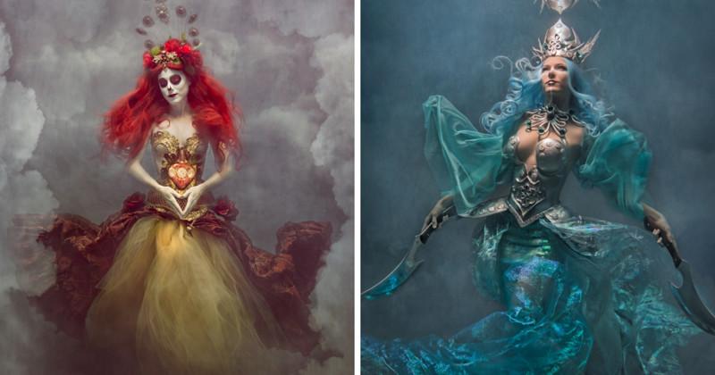 Драматичные, невероятные и безумно красивые фотопортреты под водой (16фото+1видео)