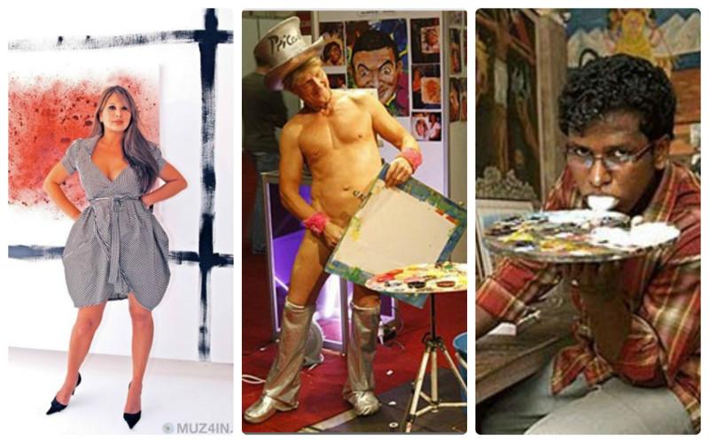 Самые странные художники мира (15фото)