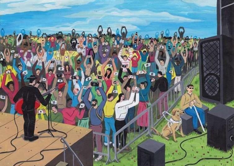 Остроумные сатирические иллюстрации на тему жизни современного человека (19фото)