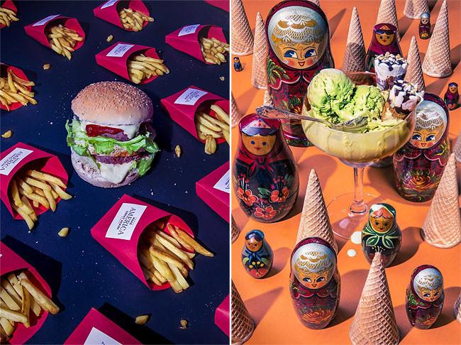 Любимая еда Дональда Трампа и других сильных мира сего в фотопроекте Дэна Баннино (10фото)