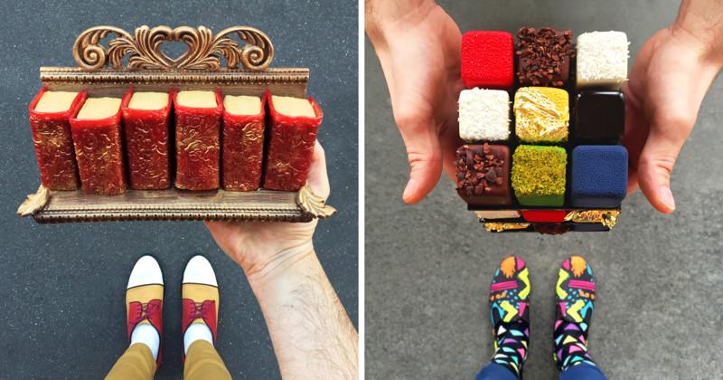Парижский кондитер готовит безумные десерты под цвет своих туфель! (53фото)