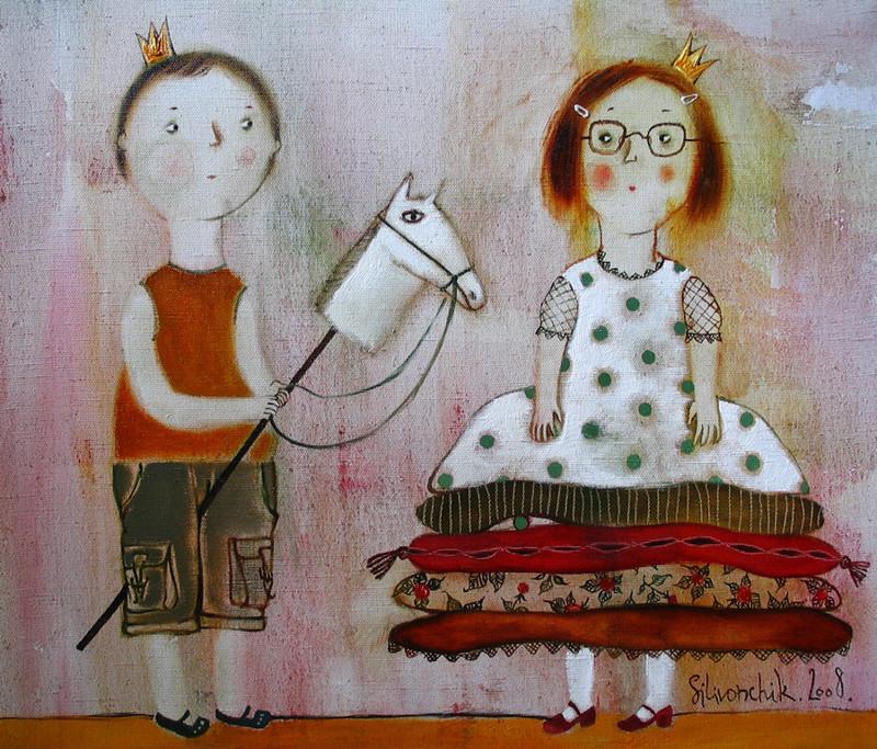 Мир чудес белорусской художницы Анны Силивончик (36фото)