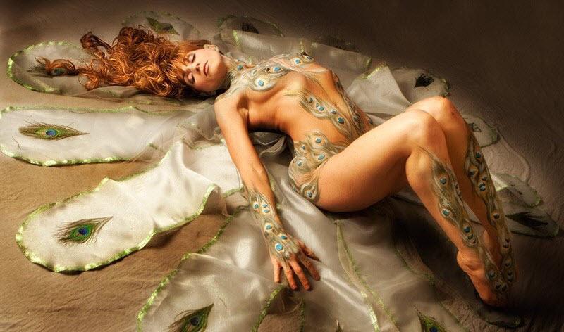 Развратный Эдем: эротические фотографии Саши Голдбергера (34 фото)