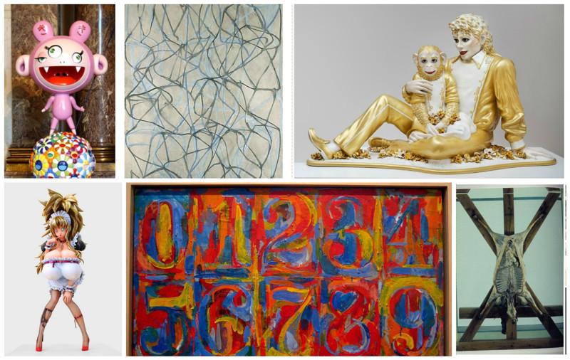 Самые богатые художники и инсталляторы современности (26фото)