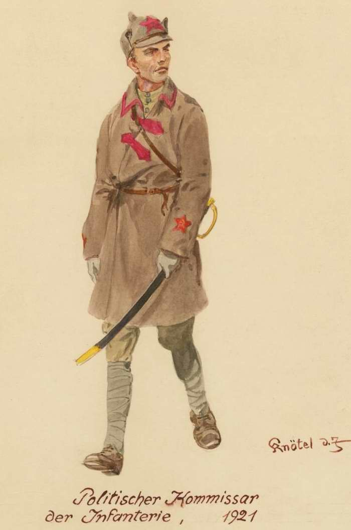 Советские солдаты глазами немецкого художника (25фото)
