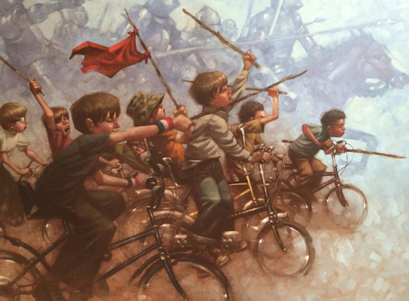 Художник напоминает нам о силе детского воображения (25фото)