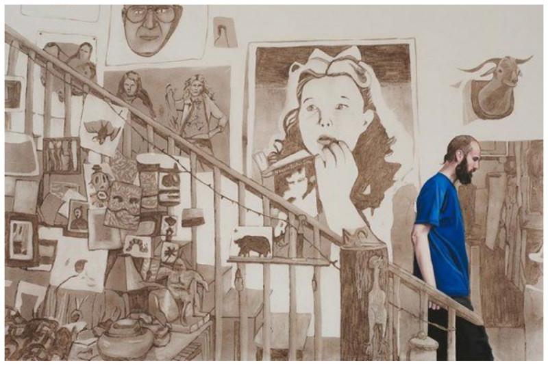 Картины Эллисон Кортсон из пыли (16фото)