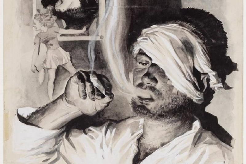 Рисунки бывших заключенных в японских лагерях голландской Ост-Индии (20фото)