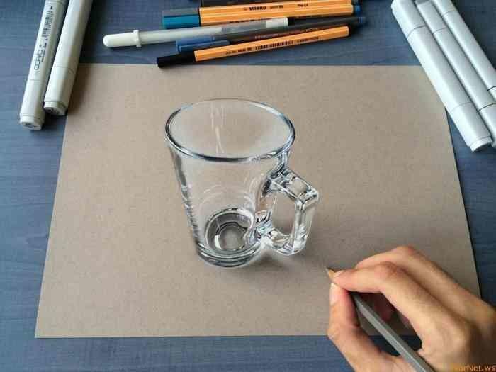 Гипер реалистичные рисунки (10фото)