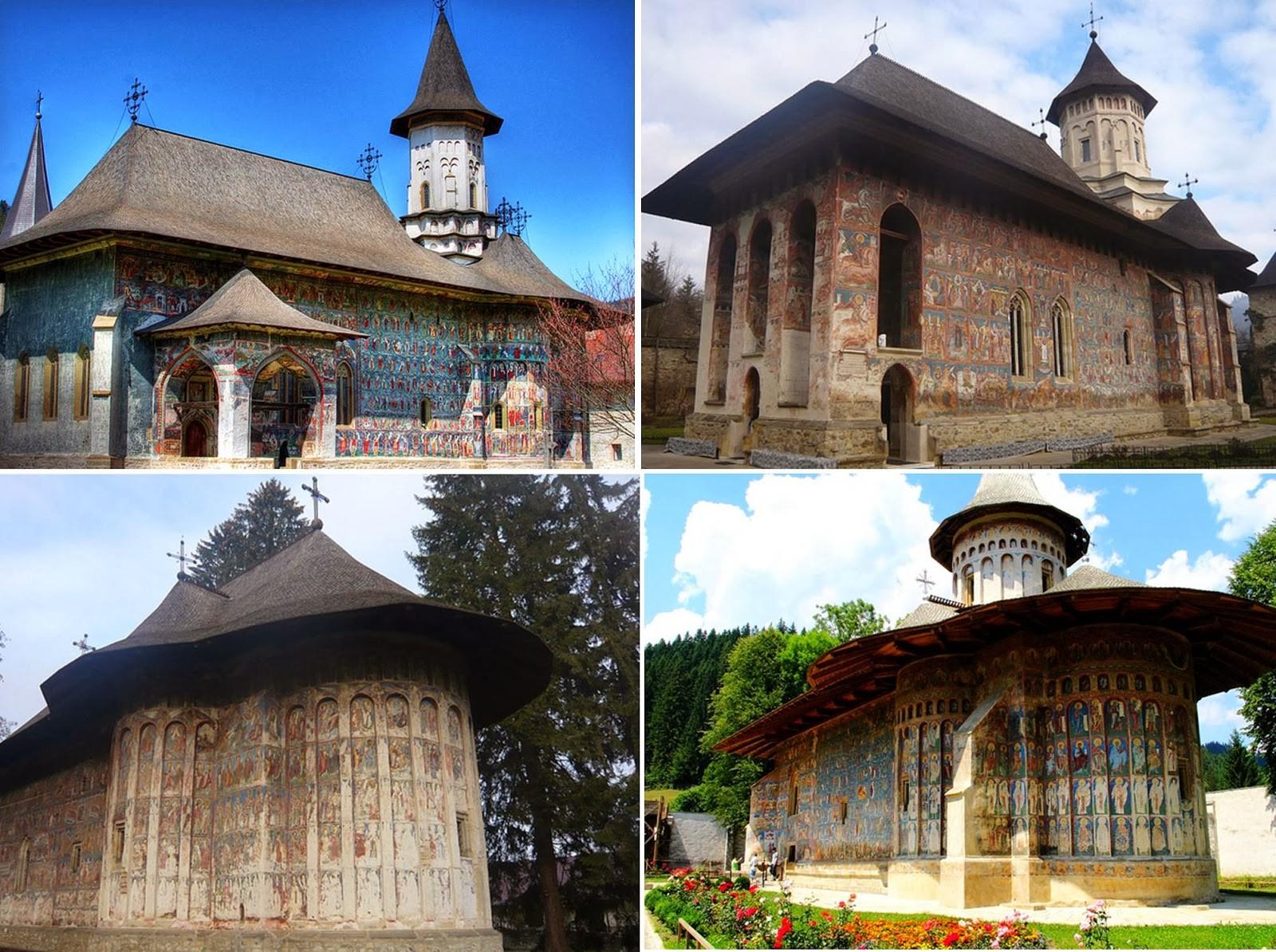 Православные граффити на стенах румынских монастырей (30фото)