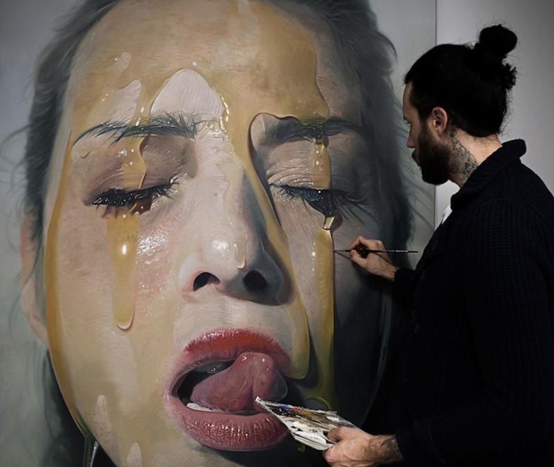 остается реалистичные картины художника как фото фото заказ