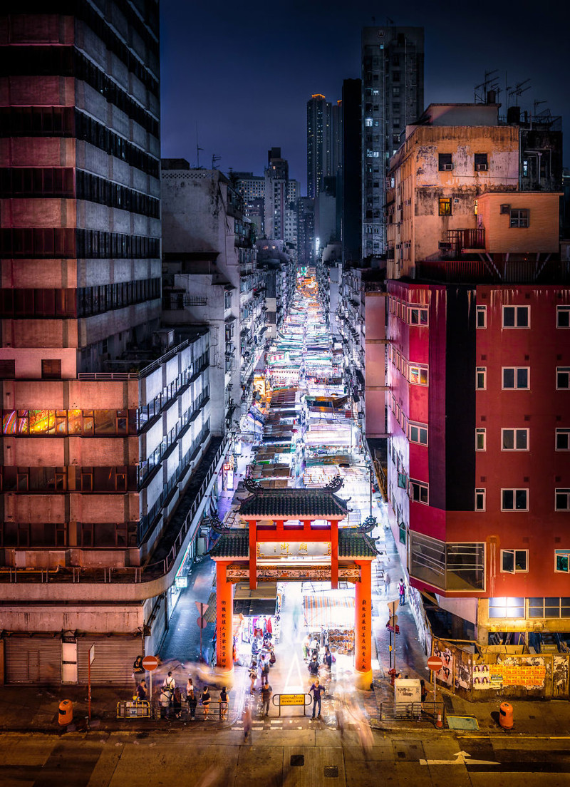 Пост обожания старого Гонконга: фотохудожник ловит уходящую натуру (14фото)