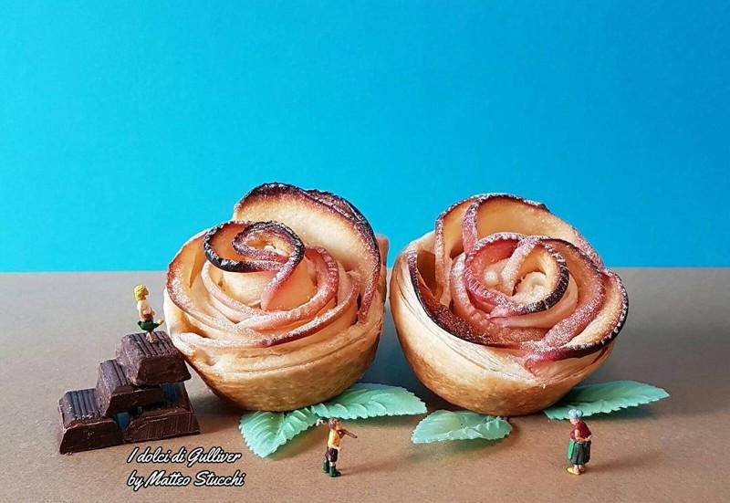 Повар из Италии делает нереально крутые композиции из выпечки. Не просто еда, а целые истории! (21фото)