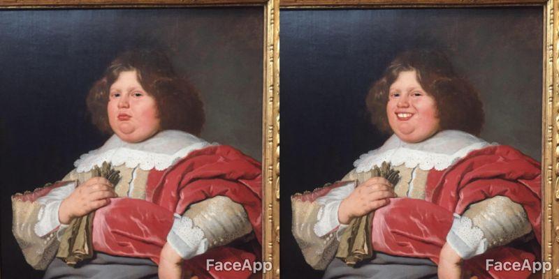 Иллюстратор с мобилкой заставил музейные экспонаты улыбаться (13 фото)