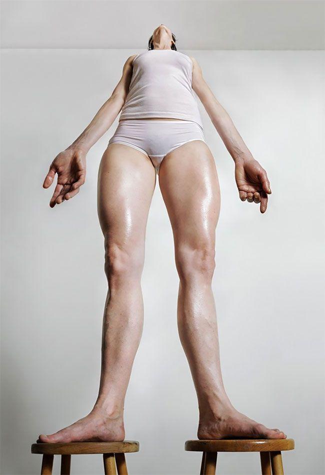 Взгляд на женскую красоту с новой перспективы (13 фото)