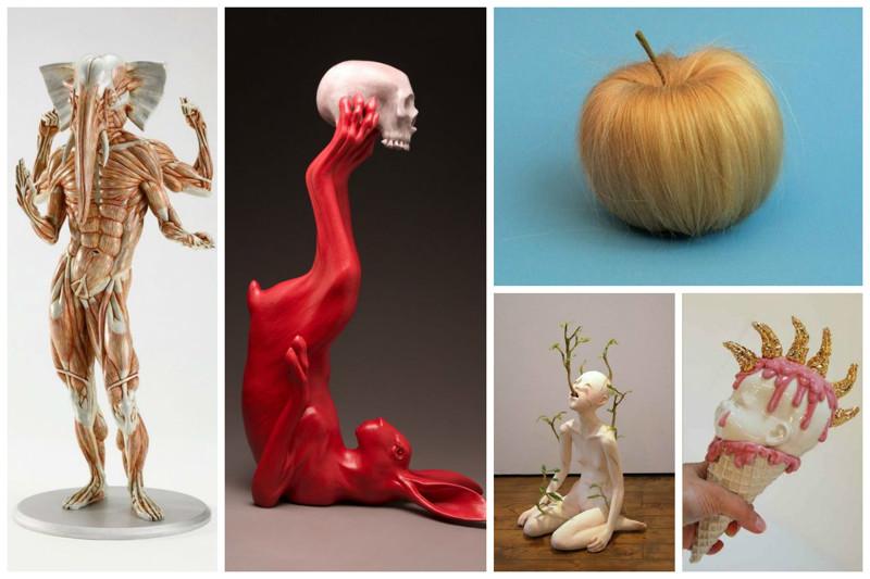 Сумасшедшие душевные арт-порывы современного искусства (23фото)