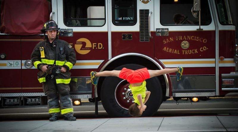 Фотограф снимает детей, легко выполняющих невозможные танцевальные движения (21фото)