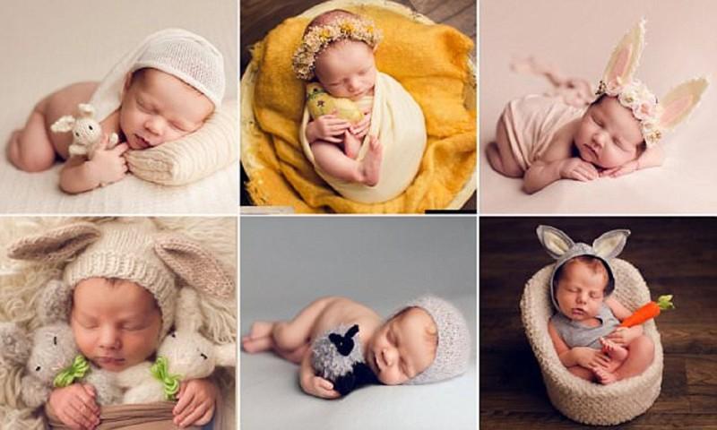 Пасхальные младенцы - трогательно до слез! (11фото)