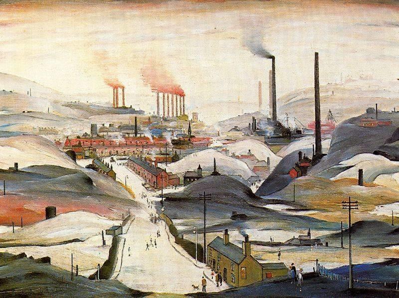 Индустриальная живопись (20фото)