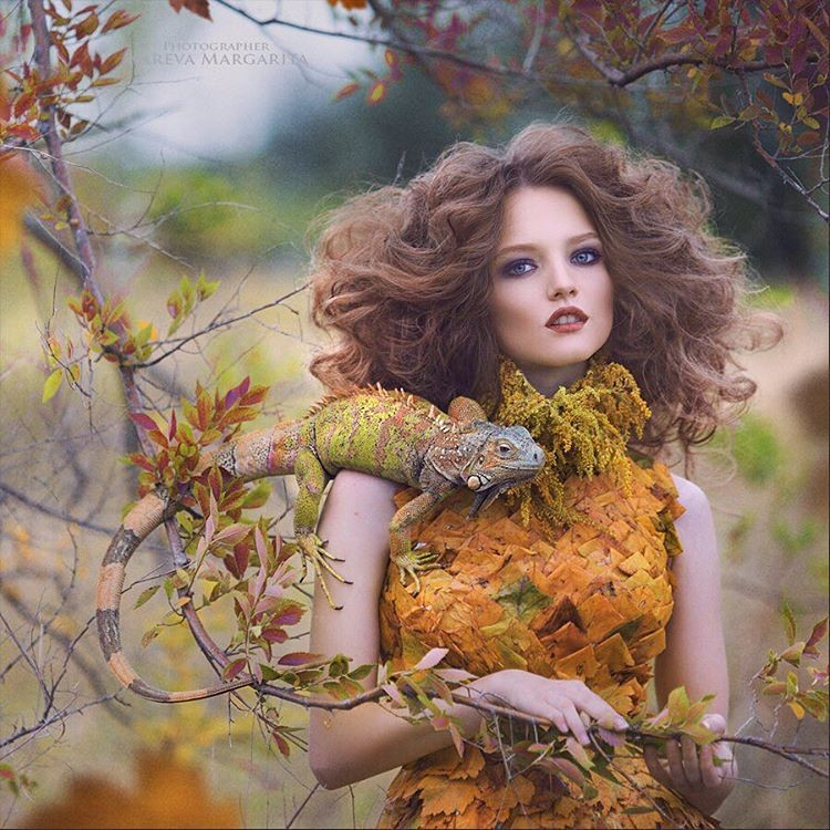 Ожившие сказки в волшебных фотографиях российского фотографа Маргариты Каревой (25фото)