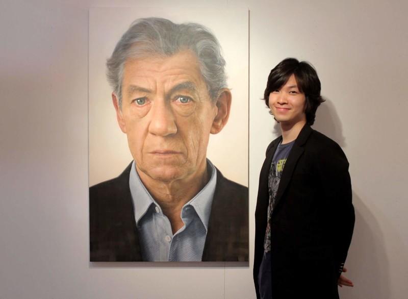 Гигантские гиперреалистичные портреты от южнокорейского художника Джунгуон Юнга (12фото)