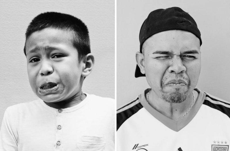 Портреты людей, попробовавших самый острый перец в мире (28фото)
