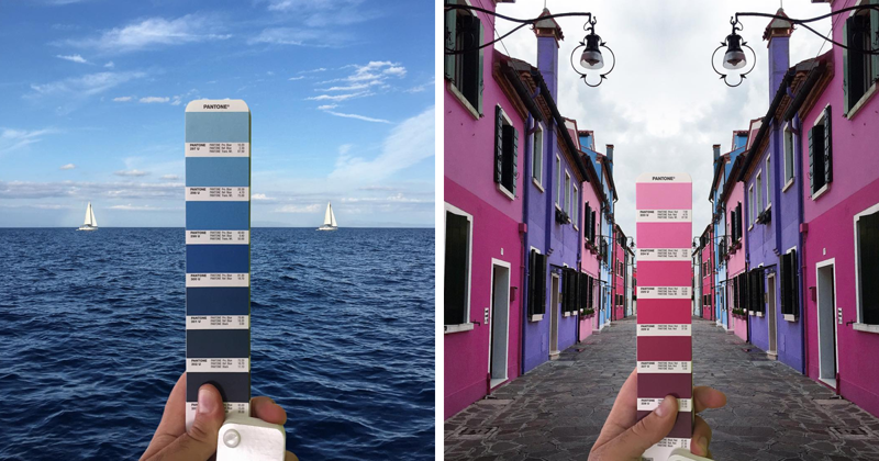 Итальянский графический дизайнер находит палитры цветов в природных пейзажах и городах (33фото)