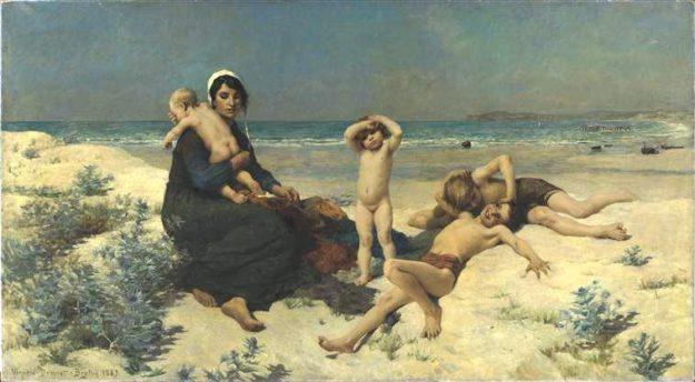 7 сильных картин Вирджинии Демон-Бретон о материнстве