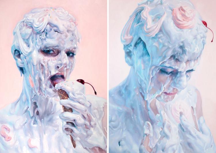 «Не молоко»: соблазнительные картины от Ивана Алифана (21фото)