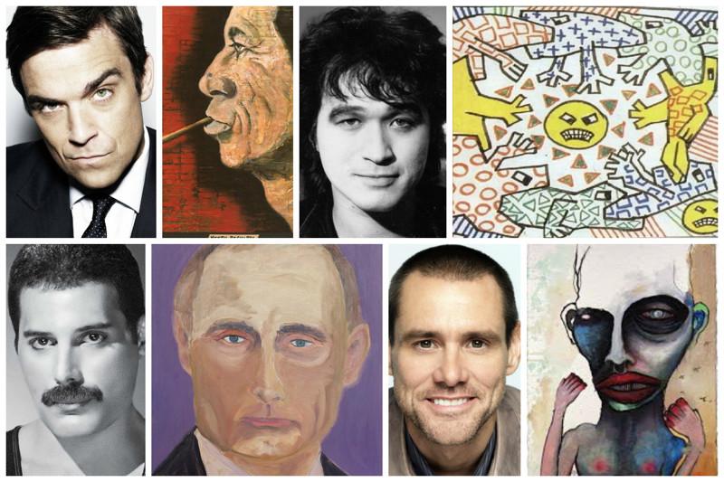 Неизвестные таланты известных людей (22фото)
