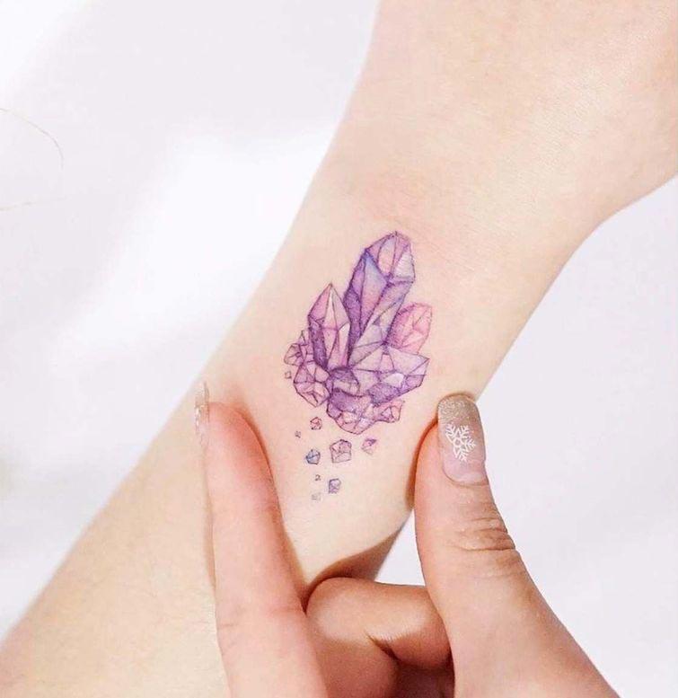Необычайно нежные татуировки пастельных цветов, украшающие тела девушек своей лёгкостью (20 фото)