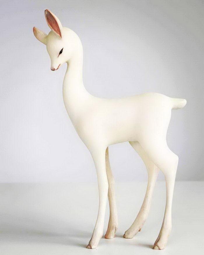 Белые скульптуры (22фото)