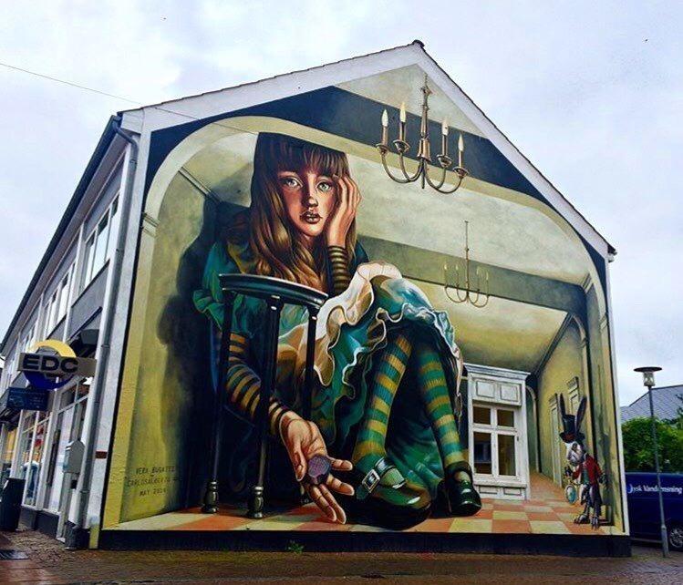 20 крутых работ уличных художников со всего мира (20фото)
