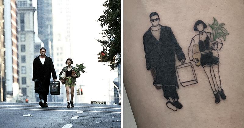 Турецкий художник делает татуировки в честь культовых фильмов (26фото)