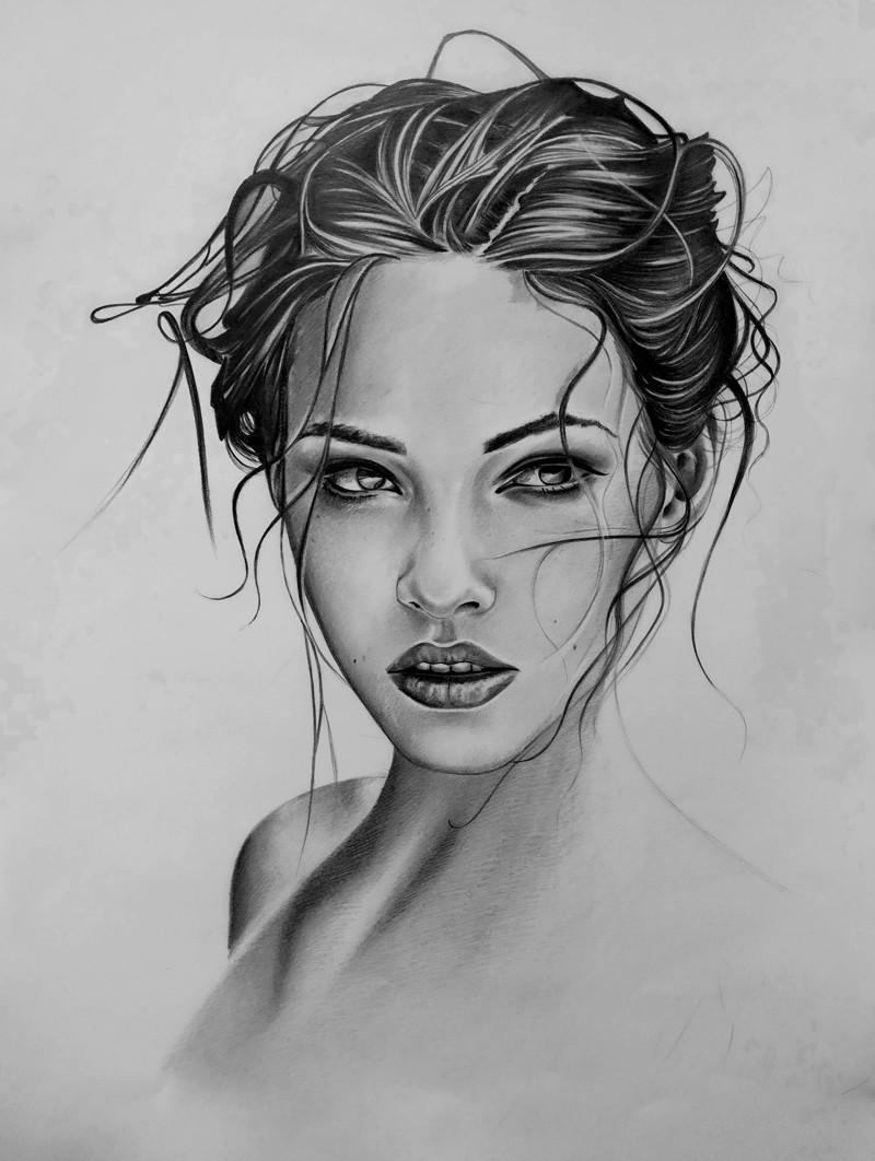рисунки карандашом красивые картинки
