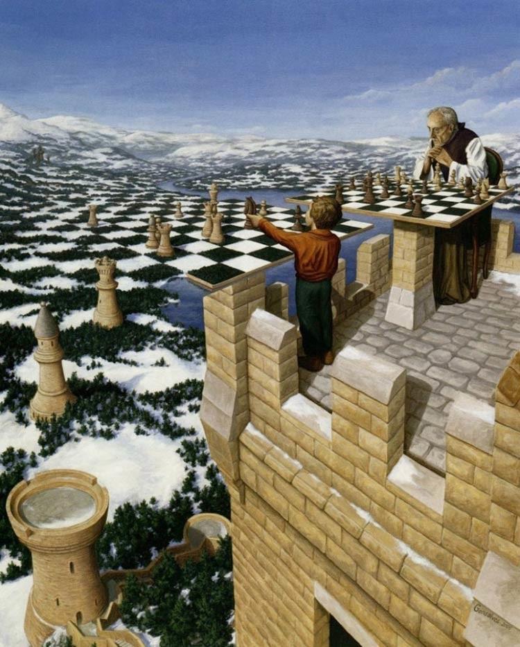 Магический реализм художника Роба Гонсалвеса (30фото)