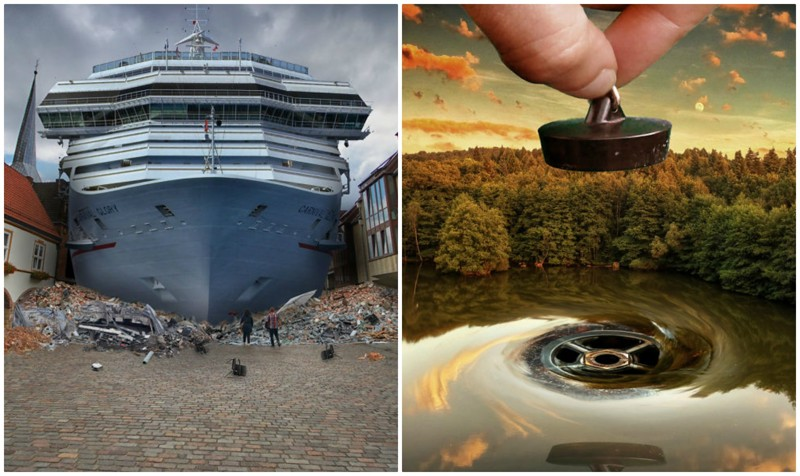 Мастер фотошопа фантастично преображает городские пейзажи (13фото)