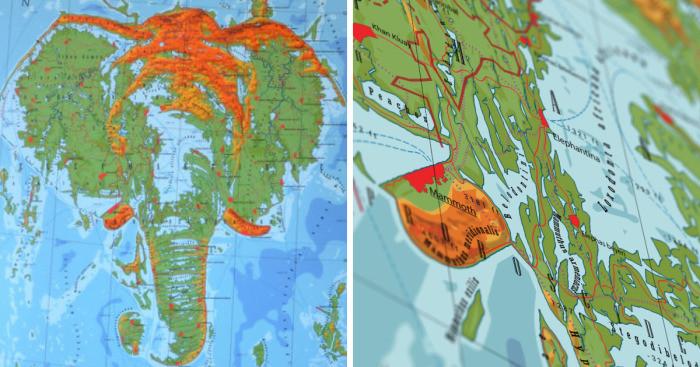 Графический дизайнер создает карты стран, которых не существует (11фото)