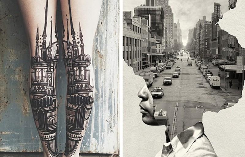 Искусство в большом городе (25фото)